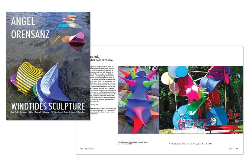 The Windtides Sculpture - Book
