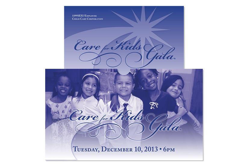Care for Kids Gala 2013 - Invitation Set