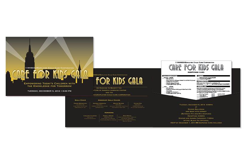 Care for Kids Gala 2014 - Invitation Set
