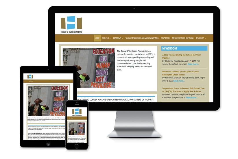 Edward W. Hazen Foundation - Website
